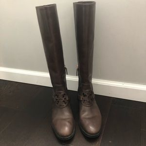 Tory Burch Miller pull-on leather boot